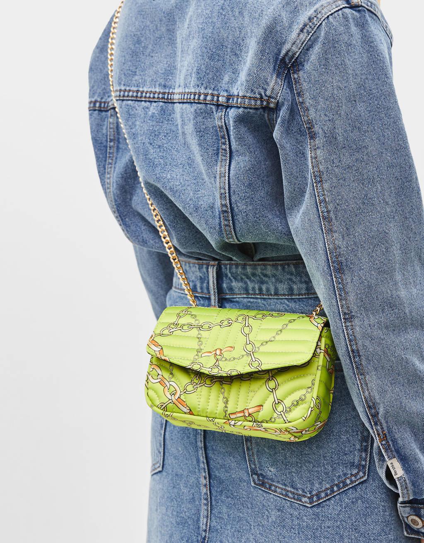 sac à main fluo