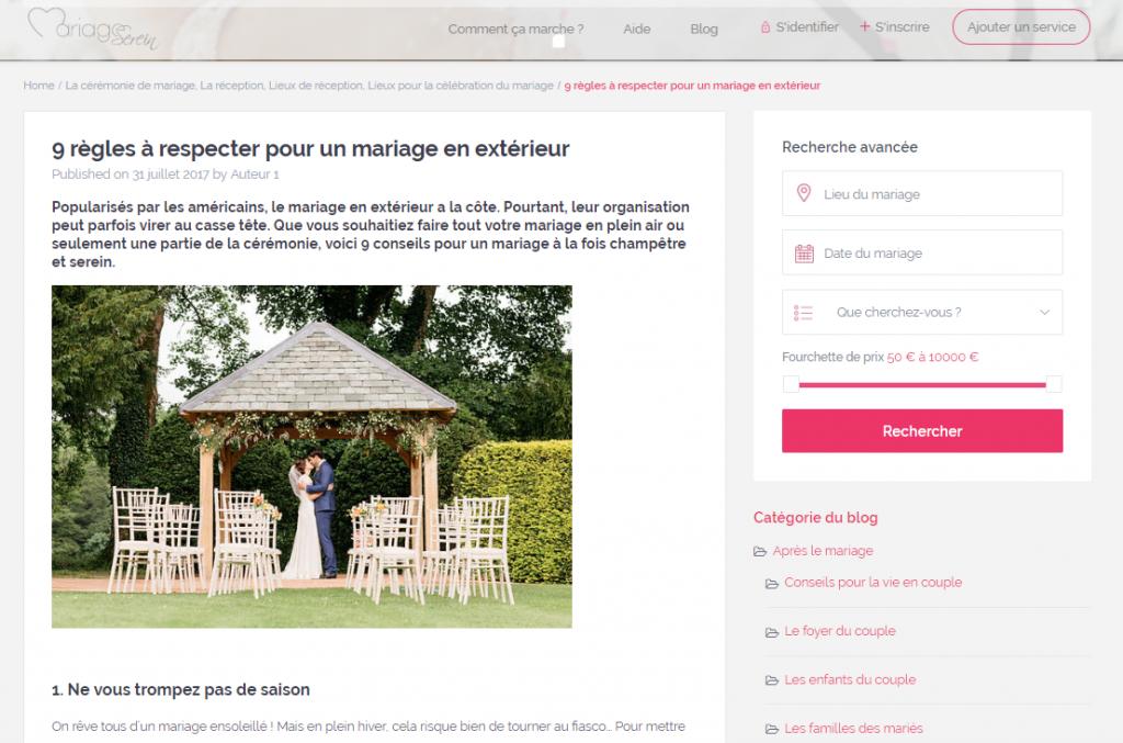 portfolio journaliste mariage